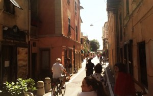 Walking the streets of Levanto