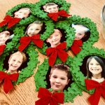 Wreaths ready for hanging ribbon