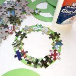 glued puzzle pieces