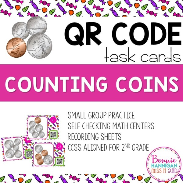 Counting Coins with QR Codes