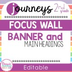Editable Focus Wall Resource