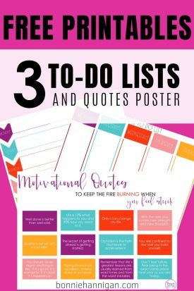 to do lists pin image