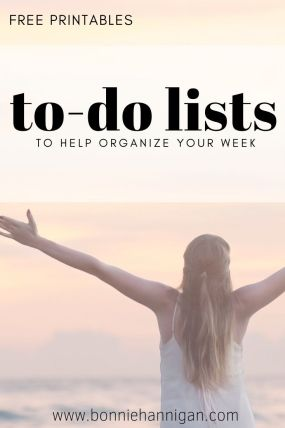 To Do Lists - Freebie!