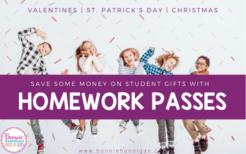 Homework Passes for Students