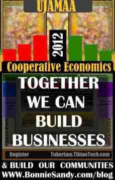 UJAMAA - cooperative economics- 2012 bonniesandy