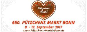 650. Pützchens Markt Bonn 8. - 12. September 2017