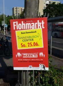 Flohmarkt am Tannenbusch Center