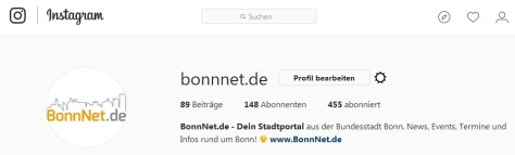 Instagram Bonn - BonnNet.de