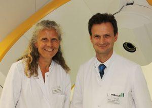 Dr. Susanne Temming und Prof. Dr. Michael Pinkawa