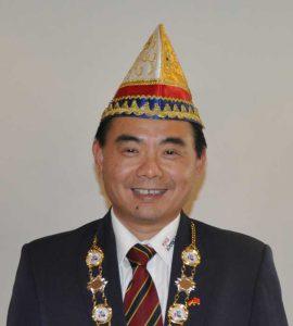 Gründer und Präsident der Kultur- und Karnevals-Gesellschaft Bönnsche Chinese e.V., Jin Jian Shu