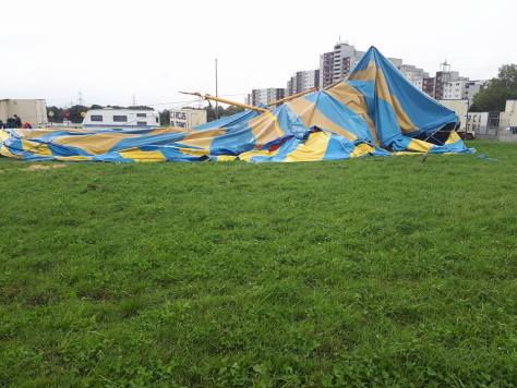 Gastspiel des CIRCUS ALTANO in Sankt Augustin fällt wegen Sturmschäden aus!