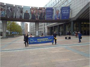 Pulse of Europe Bonn fährt nach Brüssel