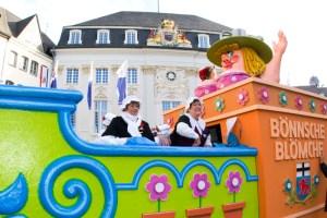 Umzug im Bonner Straßenkarneval © Foto: Michael Sondermann/Bundesstadt Bonn