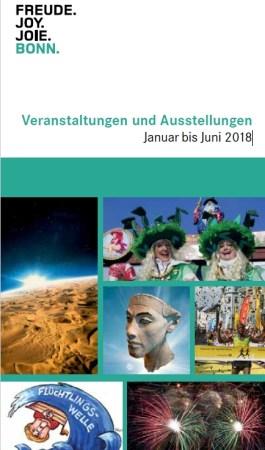 Veranstaltungen und Ausstellungen in Bonn Januar bis Juni 2018