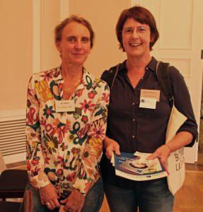Dr. Christine Lötters und Sabine Schulze von Bonn Lighthouse