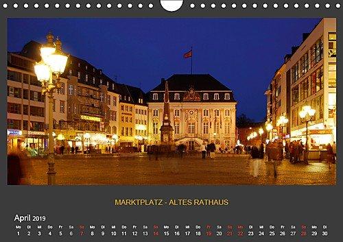 BONNER NACHTFARBEN – Nachtaufnahmen der schönen Stadt Bonn | Wandkalender 2019