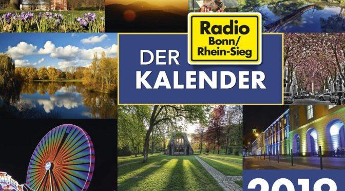 Der Radio Bonn/Rhein-Sieg Kalender 2019