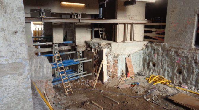 Beethovenhalle: Gründungssituation sorgt erneut für Schwierigkeiten bei der Bauausführung