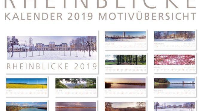 RHEINBLICKE Panorama-Kalender 2019