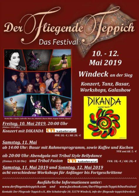 Der Fliegende Teppich - Tanzfestival rund um den orientalischen Tanz