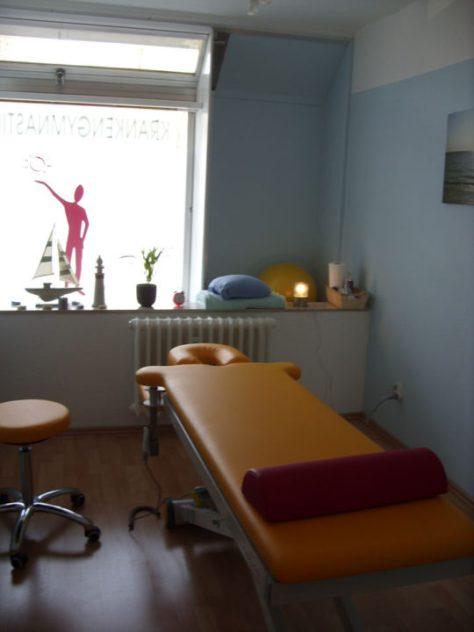 Krankengymnastik Schlesienstraße Behandlungsraum
