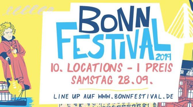 Das 3. Bonn Festival bringt euch mit einem Ticket in die Locations der Stadt.