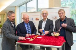 Die Juroren bei der Arbeit: Willfred Lohmüller, Reinhard Limbach, Volker Schramm, Thomas Rademacher