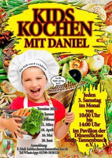 Kids kochen mit Daniel in Bonn Tannenbusch