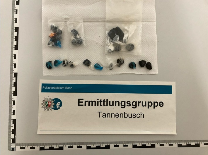 Bonn-Tannenbusch: Zivilfahnder beobachteten Drogendeal – Weiteres Rauschgift bei Durchsuchung sichergestellt