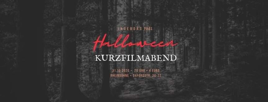 """Kurzfilmabend """"Halloween Edition"""""""