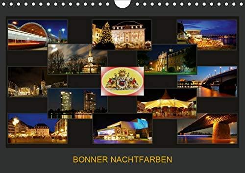 Bonner Nachtfarben Wandkalender 2021 DIN A4 quer