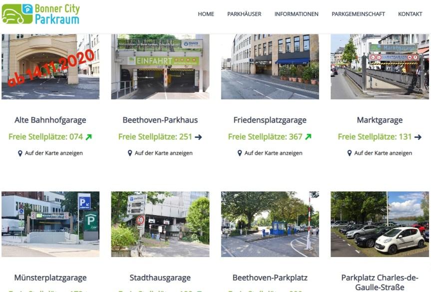 Bonner City Parkraum (BCP) erweitert Parkangebot am Bonner Hauptbahnhof