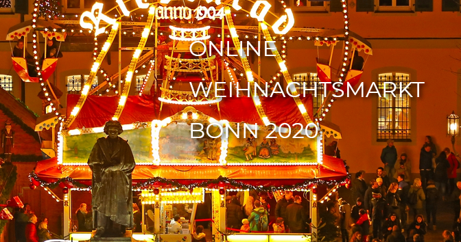 Der erste online Weihnachtsmarkt Bonn 2020 hat geöffnet!