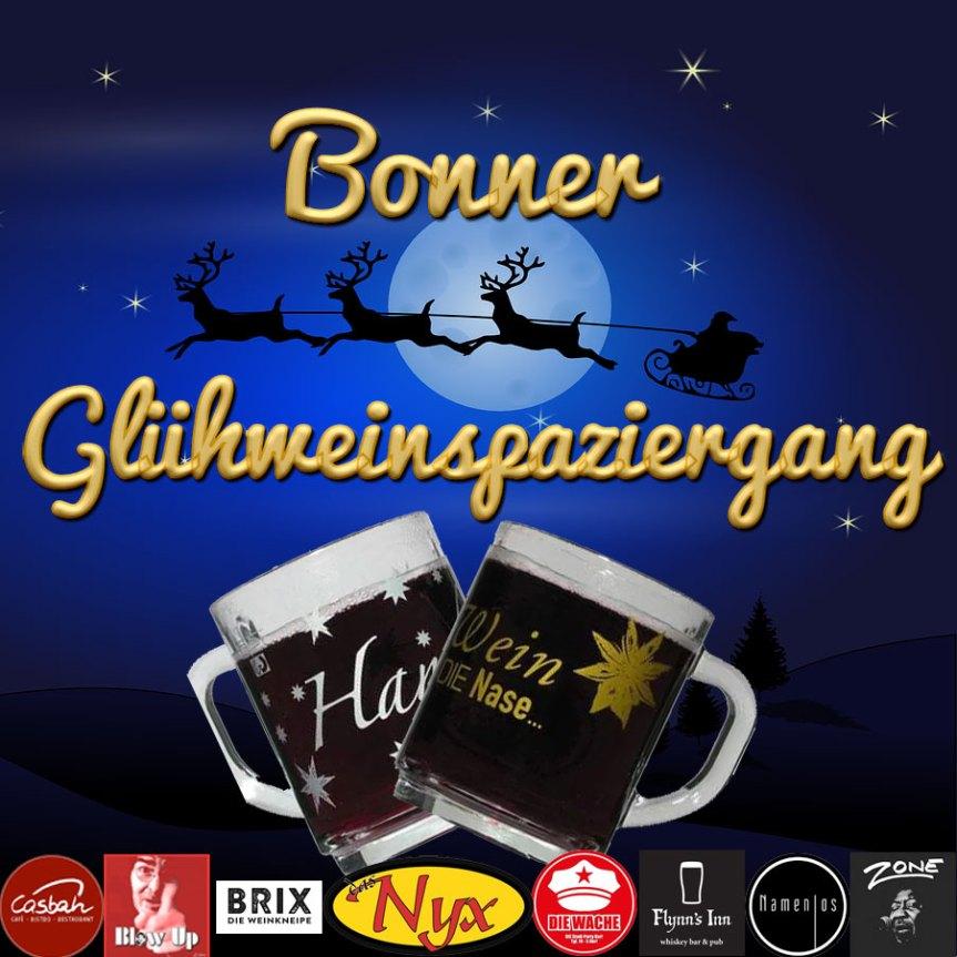 Bonner Glühweinspaziergang am Freitag, den 11. Dezember 2020