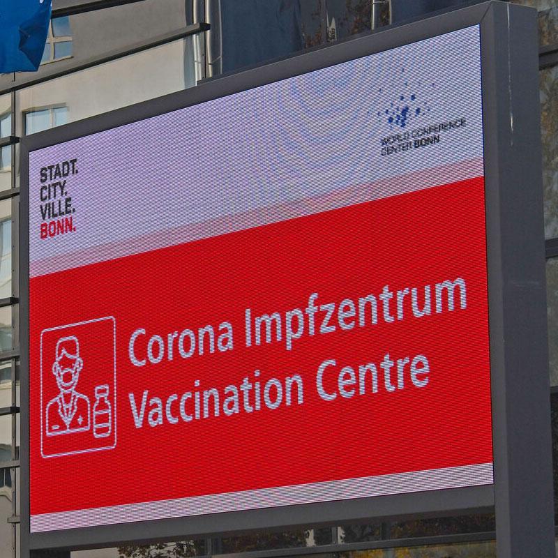 Bonn Corona-Impfung: Versand der Informationsbriefe an die über 80-Jährigen