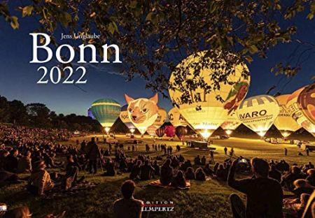 Bonn Kalender für 2022, Kunstdruck im Querformat