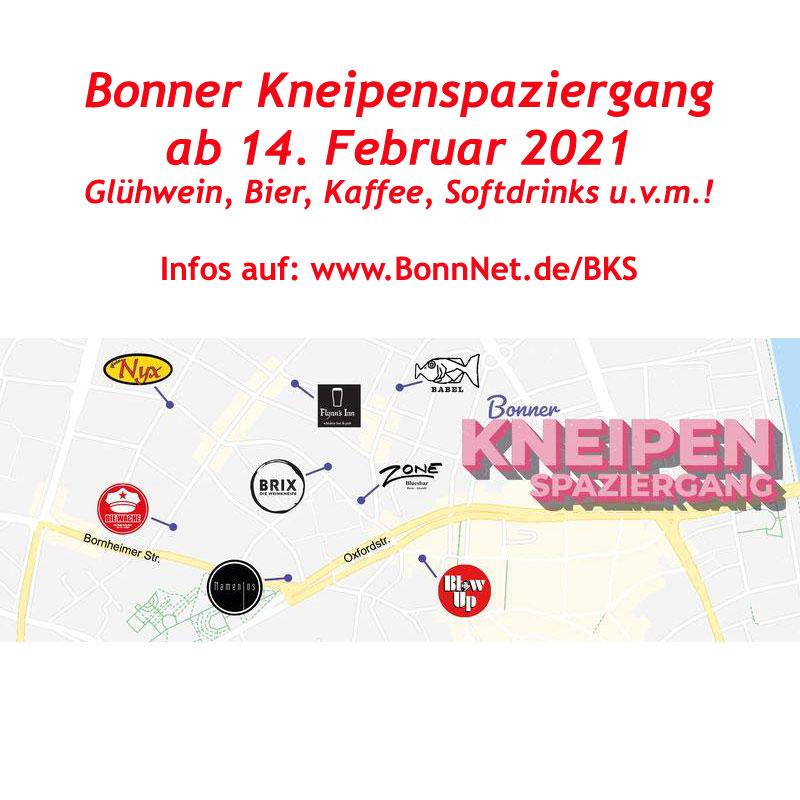 Bingo-Kneipenspaziergang! Glühwein, Longdrinks, Bier u.v.m. in der Bonner Altstadt