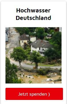 Aktion Deutschland Hilft: Hochwasser Deutschland: Hier brauchen die Menschen jetzt Ihre Hilfe!