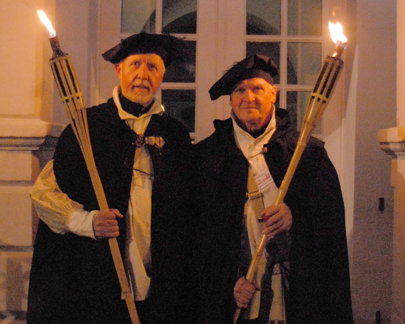 Nachtwächter Jochen + Ulli van Üüm