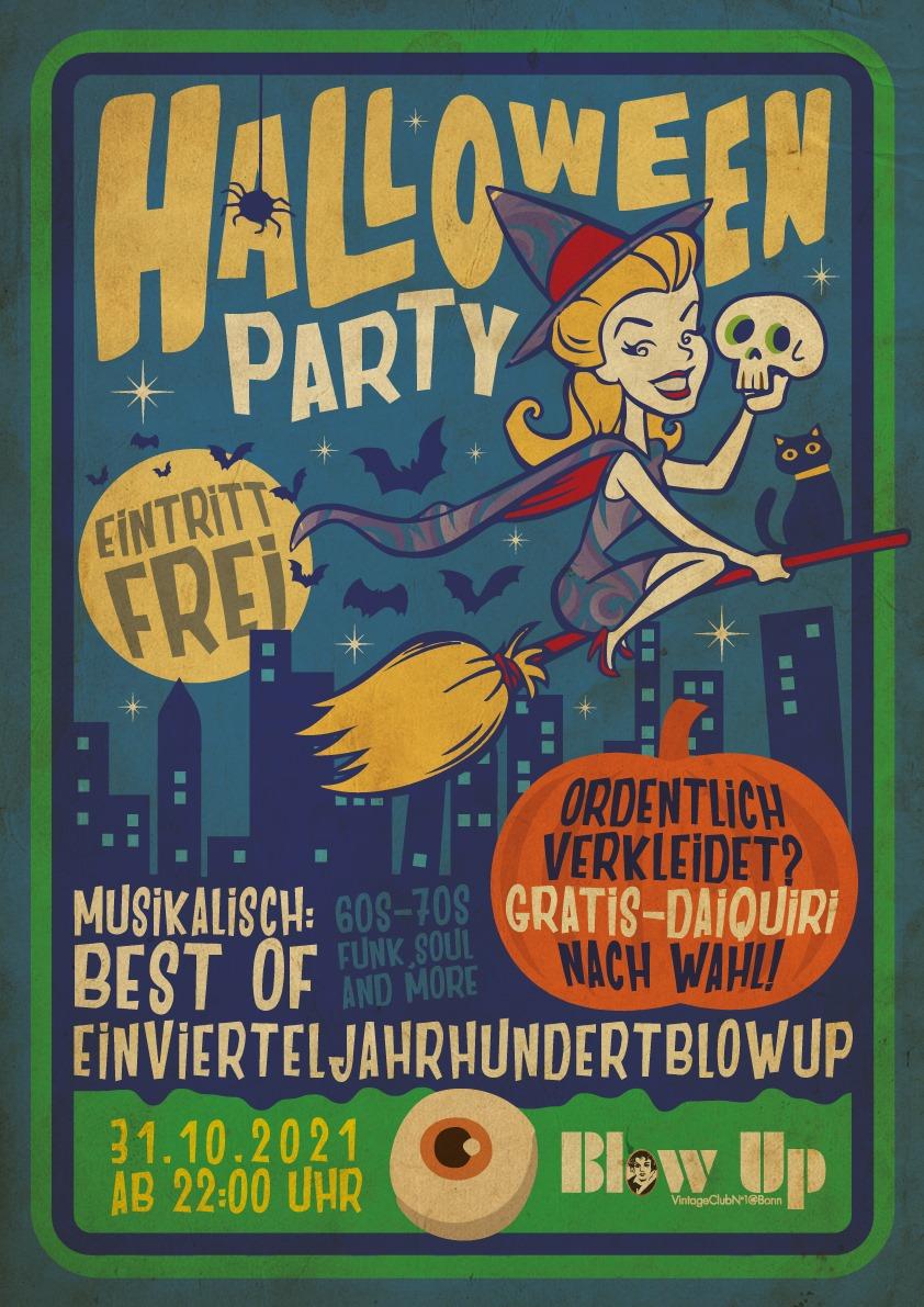 Halloween im Blow up Bonn