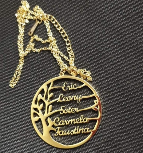 Family Tree Necklace photo review