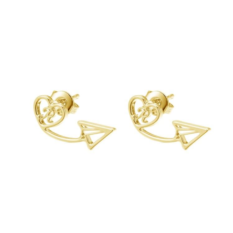 Personalized Arrow Earrings