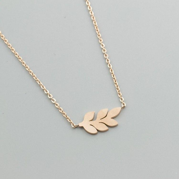 laurel leaves necklace jewelry bonny planet