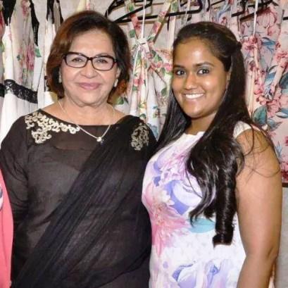 Helen with Arpita Khan
