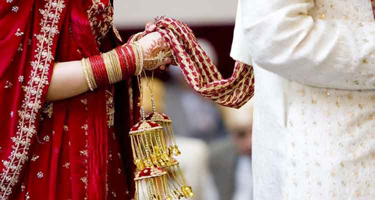 Marriage of couples from two states
