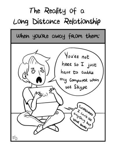 reality of long distance relationship
