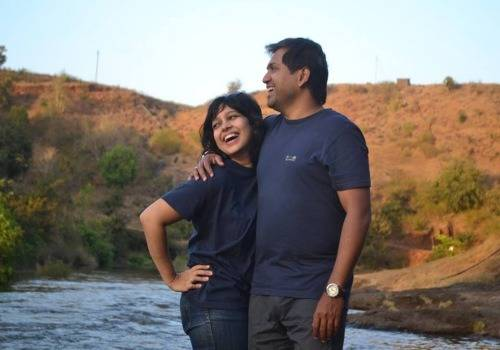 shekhar and his wife