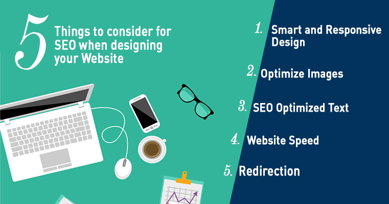 5 Things to Consider For SEO When Designing Your Website