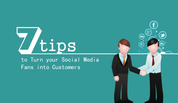 social media fans, social media customers, social media leads