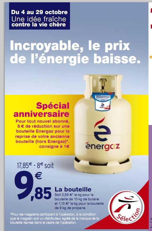 10 85 La Bouteille De Gaz De 10kg